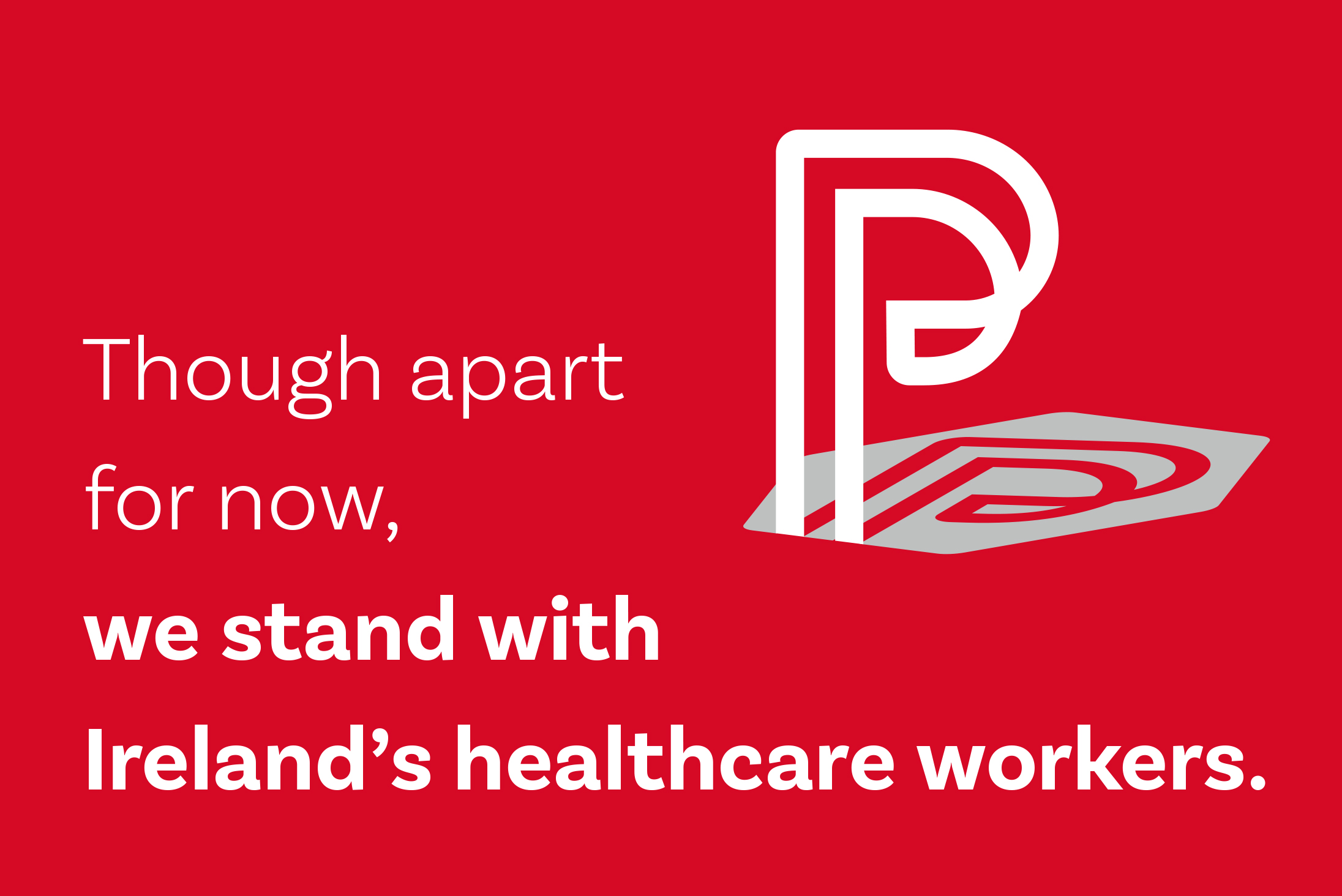 We Stand with Ireland's Healthcare Workers